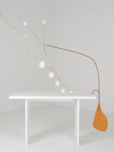 Alexander-Calder-Orange-Paddle-under-the-Table-1949_-The-Leonard-and-Ruth-Horwich-Family-Loan_