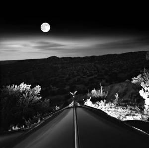 moonrise over roller